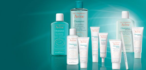 Gamme CLEANANCE AVENE, peaux grasses à imperfections